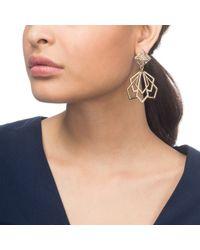 Lulu Frost - Metallic Portico Statement Earring - Lyst