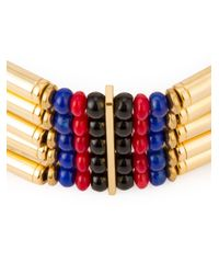 Ambush - Metallic Multi Straps Beaded Chocker Necklace for Men - Lyst