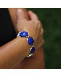 Irene Neuwirth - Blue Rose Cut Lapis Bracelet - Lyst