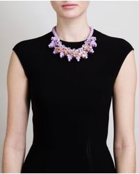 EK Thongprasert - Purple Nemesia Sunsatia Embellished Silicone Necklace - Lyst