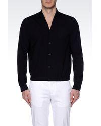 Emporio Armani - Black Caban for Men - Lyst