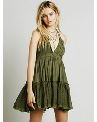 Free People | Green 100 Degree Dress | Lyst