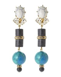 Lele Sadoughi | White Vessel Earrings | Lyst