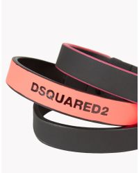 DSquared² - Pink Fluo Japan Armlet for Men - Lyst