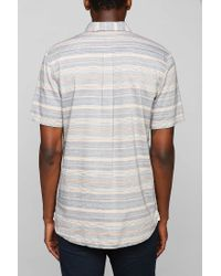 Vans - Blue Drexler Button Down Shirt for Men - Lyst