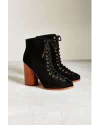 Jeffrey Campbell | Black Free Love Lace-up Heel | Lyst