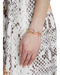 Vita Fede | Orange Mini Titan 24 Karat Rose Gold Plated Bracelet | Lyst