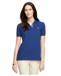 Brooks Brothers - Blue Short-sleeve Classic Fit Polo Shirt - Lyst