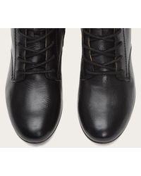 Frye | Black Jillian Lace-Up Leather Boots | Lyst