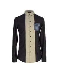 DSquared² - Gray Shirt for Men - Lyst