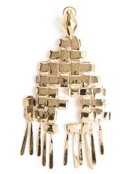 Aurelie Bidermann   Metallic 'marella' Dangling Earrings   Lyst