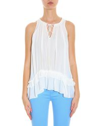 Elizabeth and James - White Mirla Top - Lyst