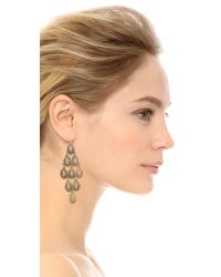 Adia Kibur | Metallic Anna Earrings - Gold | Lyst
