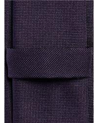 Mauro Grifoni - Blue Silk Tie for Men - Lyst