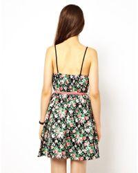 Jarlo | Black Felicia Floral Dress | Lyst