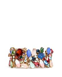 J.Crew | Multicolor Multi-colour Stone Bracelet | Lyst