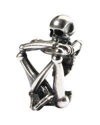 Trollbeads | Metallic Sterling Silver Skeleton Spirit Bead for Men | Lyst