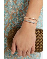 Monica Vinader - Metallic Baja Rose Goldplated Diamond Bracelet - Lyst