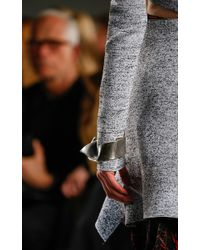 Proenza Schouler | Metallic Cast Thick Ribbon Bangle | Lyst