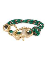 Miansai | Picton Green Rope Keychain Bracelet for Men | Lyst