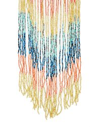 Nasty Gal | Metallic Caught Up Fringe Necklace | Lyst