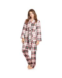 Ralph Lauren | Pink Plaid Shawl-collar Robe | Lyst