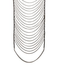 Lisa Freede - Metallic Malibu Necklace - Lyst