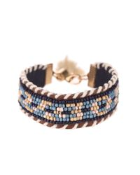 Sessun | Brown Bracelet | Lyst