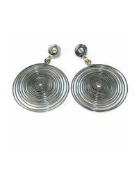 Sibilla G Jewelry - Metallic Spiral Galaxy Silver Earrings - Lyst