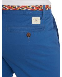 Bellfield - Blue St Plain Regular Fit Chino Shorts for Men - Lyst