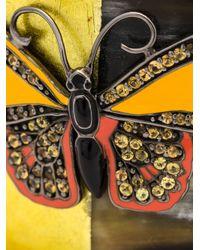 M.c.l  Matthew Campbell Laurenza | Black Butterfly Motif Horn Cuff | Lyst