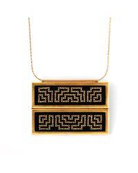 Delacruz | Metallic Palenque Gold | Lyst