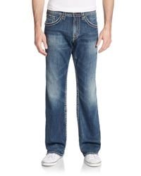 Silver Jeans Co. - Blue Zac Relaxed Straight-fit Jeans for Men - Lyst