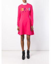 KENZO - Pink Paris Dress - Lyst