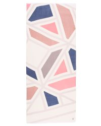 Tory Burch | Pink Exploded Fret Oblong Scarf | Lyst