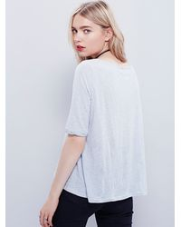 Free People - White We The Free Womens Perfect World Tee - Lyst