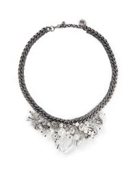 Venessa Arizaga | Metallic 'ready To Party' Necklace | Lyst