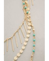 Anthropologie - Blue Turquoise Sabbatical Necklace - Lyst