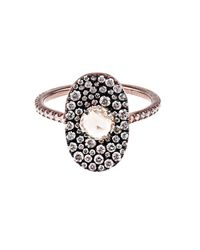 Susan Foster | Pink Diamond & Rose-Gold Bubbly Ring | Lyst