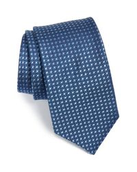 Michael Kors | Blue 'diamante Neat' Silk Tie for Men | Lyst