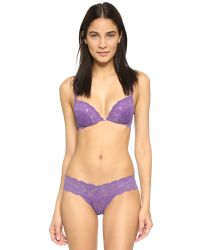 Cosabella | Purple Never Say Never Cutie Low Rise Thong - Dragon Fruit | Lyst