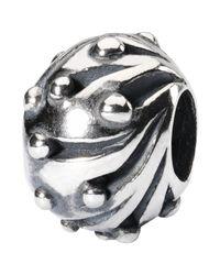 Trollbeads | Metallic Sterling Silver Snowballs Bead | Lyst