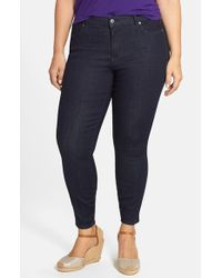 CJ by Cookie Johnson | Blue 'wisdom' Stretch Ankle Skinny Jeans | Lyst