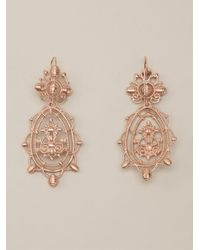 Vivienne Westwood | Metallic Isolde Earrings | Lyst