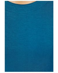 Missguided - Blue Cailey Bodycon Midi Dress - Lyst