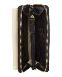 Fiorelli - Black Warren Monochrome Medium Zip Around Purse - Lyst