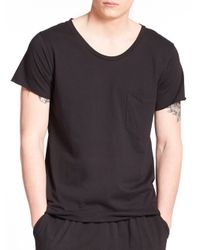 OAK | Black Torque T-shirt for Men | Lyst
