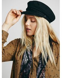 Free People | Black Aegean Womens Off Duty Lieutenant H | Lyst