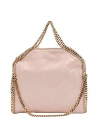 Stella McCartney - Rose Pink Canvas 'falabella' Chain Link Tote - Lyst