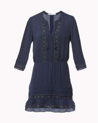 Veronica Beard | Blue Katia Boho Dress | Lyst